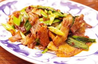 陳麻婆豆腐 クイーンズスクエア店 - 回鍋肉