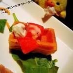 ポレポレ - ワッフルって立派な前菜になるナスね(*≧∀≦*)