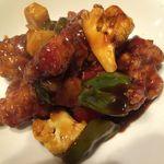 Senyou - 若鶏の黒酢炒め