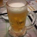 蔓山 - まずはビール