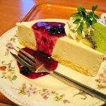 開成館 - レアチーズケーキ「あっぷ図」