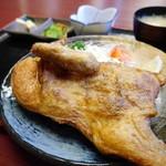 若とり - 料理写真:鳥のから揚げ大定食