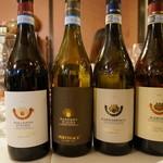 アーティーチョーク - ピエモンテのイタリアワインを4本飲みました。