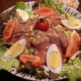 家庭料理、お野菜いっぱいの「おばんざい」を召し上がって下さい