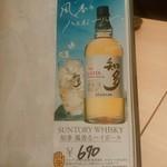 葵屋 - 【2015.11.18(水)】風香ハイボール