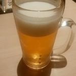葵屋 - 【2015.11.18(水)】生ビール