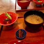 豆腐かふぇ 浦島 - ドリンク代のみでいただけるモーニング(400円) (2015.11現在)