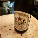 勇すし - ビールはサッポロ赤星