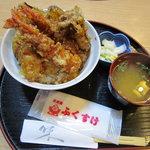 天丼屋 ふくすけ - 上天丼¥800