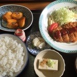 竹山食堂 - とんかつ定食