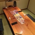 鮨豊 - 今回は、二人で予約を入れていましたので、個室を用意してくださいました(2015.11.19)