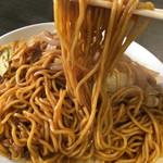焼そば ランラン - 麺