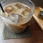 茶日 - セットのアイスコーヒーです。