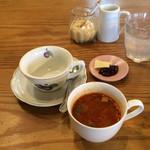 44604502 - ランチのスープ