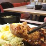 松屋 - ニンニクソースの豚テキ~