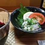 飲み食い処ゆるりや - 真牡蠣のポン酢