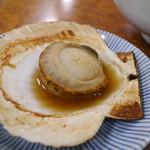 浄土ヶ浜マリンハウス - 焼き帆立(500円)