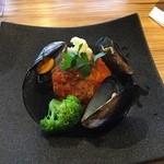 リール アフェアー - ムール貝とお魚