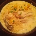 武蔵野食堂  - 舞茸のクリームパスタ