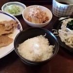 じごな - 料理写真:日替り定食 700円