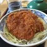 ソースカツ丼・そば きりの実 - ソースカツ丼