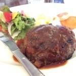 甘味茶房 三ツ寺カフェ - 料理写真:おすすめのきのこハンバーグ
