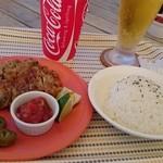 Takoraisukafekijimuna - メキシカンチキンステーキとライス