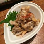 トクトク - タイラギ貝のヒモポン酢(^^)