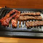 焼肉大山 - 牛ハラミ定食850円