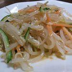 中国料理 シルクロード - 晩酌セットの日替り惣菜