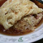 中国料理 シルクロード - 旨い天津チャーハン♪680円
