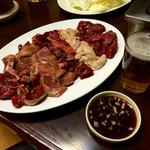 ジンギスカン - 料理写真:オヤジ的ビジュアル(笑)