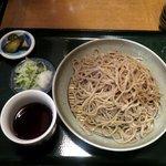 蕎麦正 なかや - 飛騨ざるそば(中1140円)