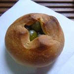 まめや - 3種の豆パン ひとつはうぐいす豆☆