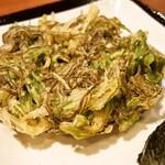 丸亀製麺 - もずくの天ぷら