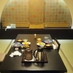 秘湯の宿 滝見苑 - 個室でお昼をいただきました。