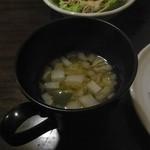 た喜ち - サラダと具沢山スープ