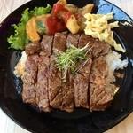 44624771 - ステーキライス(限定10食)