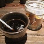 鶏魚Kitchenゆう - アイスコーヒーサービス