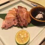 44625836 - 熊本の地鶏 天草大王塩焼き