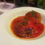 イル・ピアット - 羊肉のハンバーグ