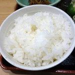 川崎鶏唐揚定食店 - ご飯