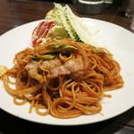 カフェ・フィガロ - 料理写真:焼きスパ 650円