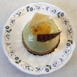ビーネマヤ - ピスタチオのケーキ、400円です。