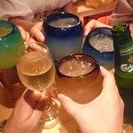 ハモンベイベー - ☆大人数での乾杯は盛り上がります(≧▽≦)/~♡☆