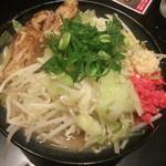 ゴル麺。 - ゴル麺830円