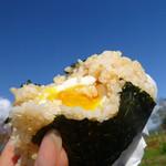 ちゃみせ - おむすび/半熟卵