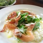 プチプレッソ - 料理写真:生ハムとパルミジャーノのリゾット