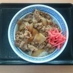 吉野家 - 牛肉(アタマ)[\480]