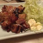 焼鶏館 - 網焼き